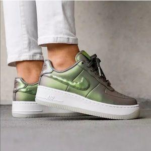 Women's Nike Air Force 1 Upstep Premium Sneakers